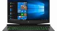 HP Pavilion 17-cd1010nr 17.3″ Gaming Notebook, Intel i5,2.50G,8GB RAM, 256GB SSD